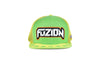 Fuzion Xtreme Snapback Green-Yellow