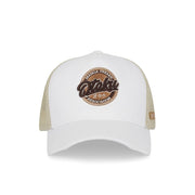OTAKU White Trucker Hat - Fuzion caps