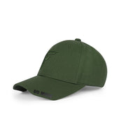 Talk Less..Do More Olive Green Baseball Cap - Fuzion caps