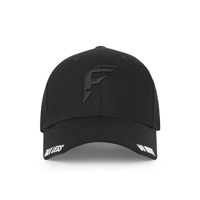 Talk Less..Do More Black Baseball Cap - Fuzion caps