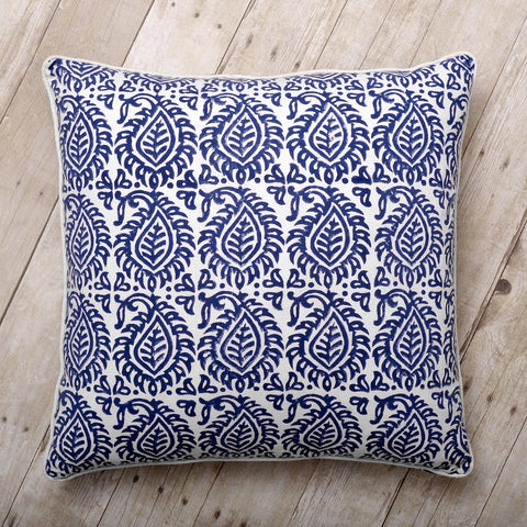 Naya Block Print Cushion (on sale)