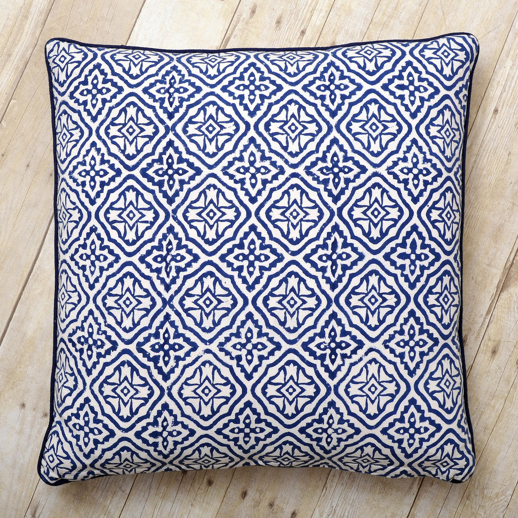 Reva Block Print Cushion