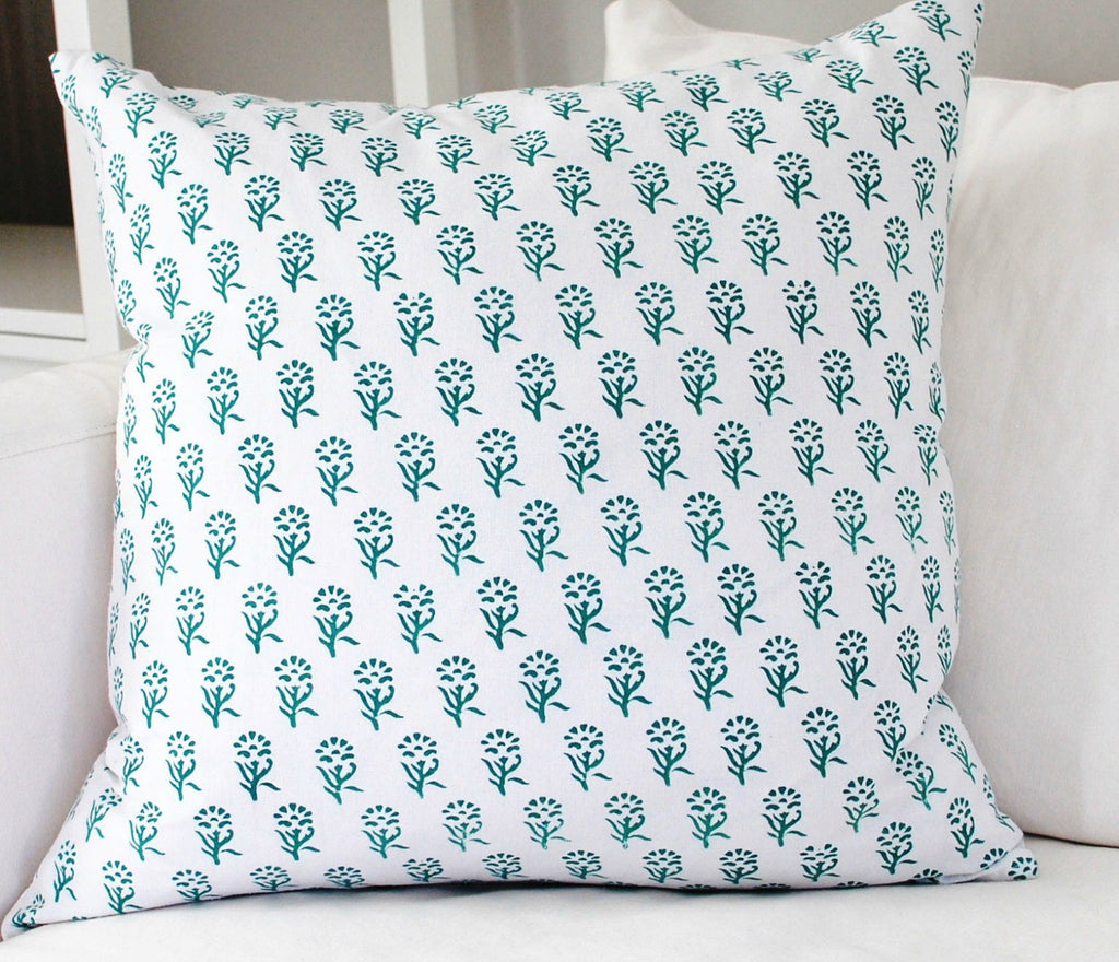 Anika Block Print Cushion