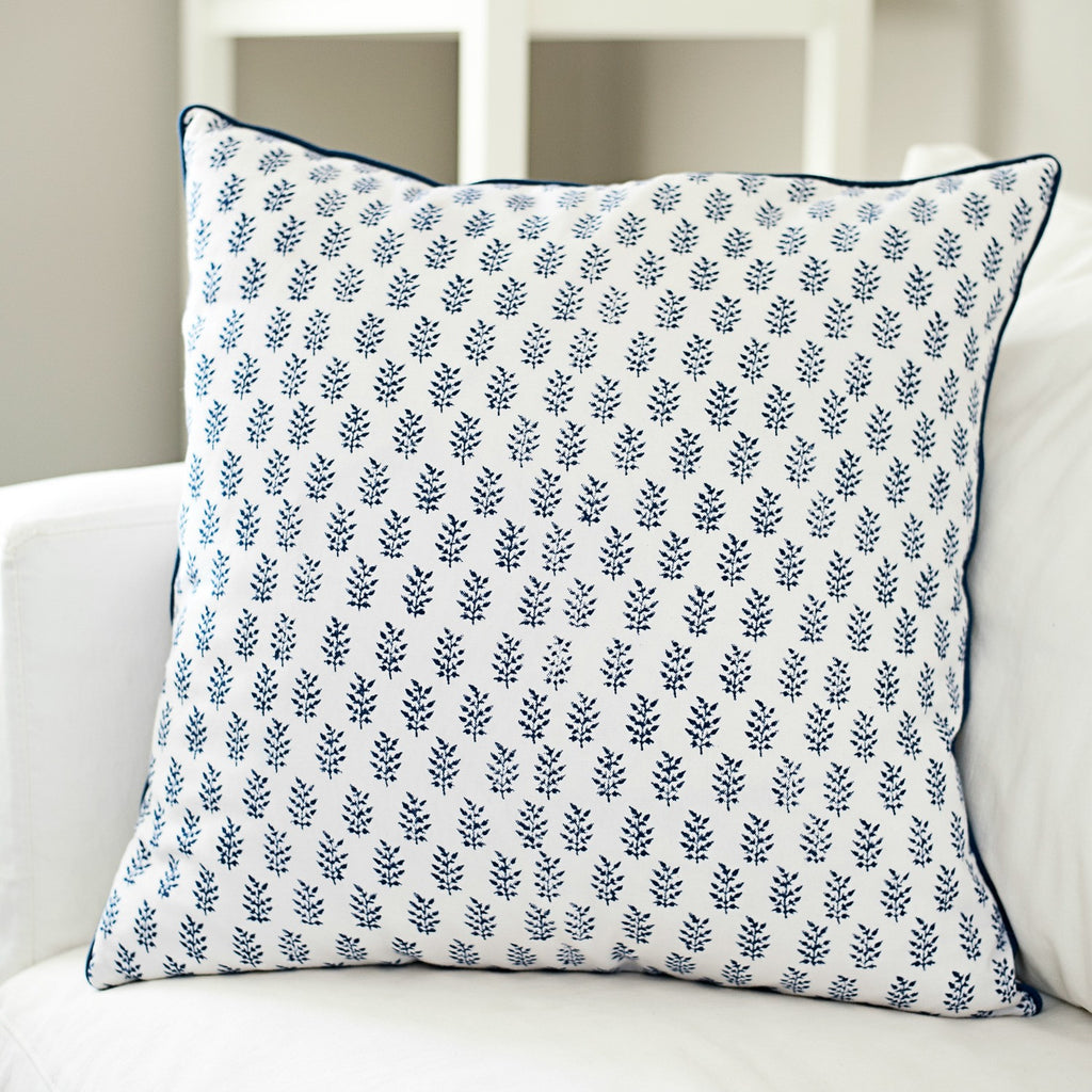 Dhara Block Print Cushion