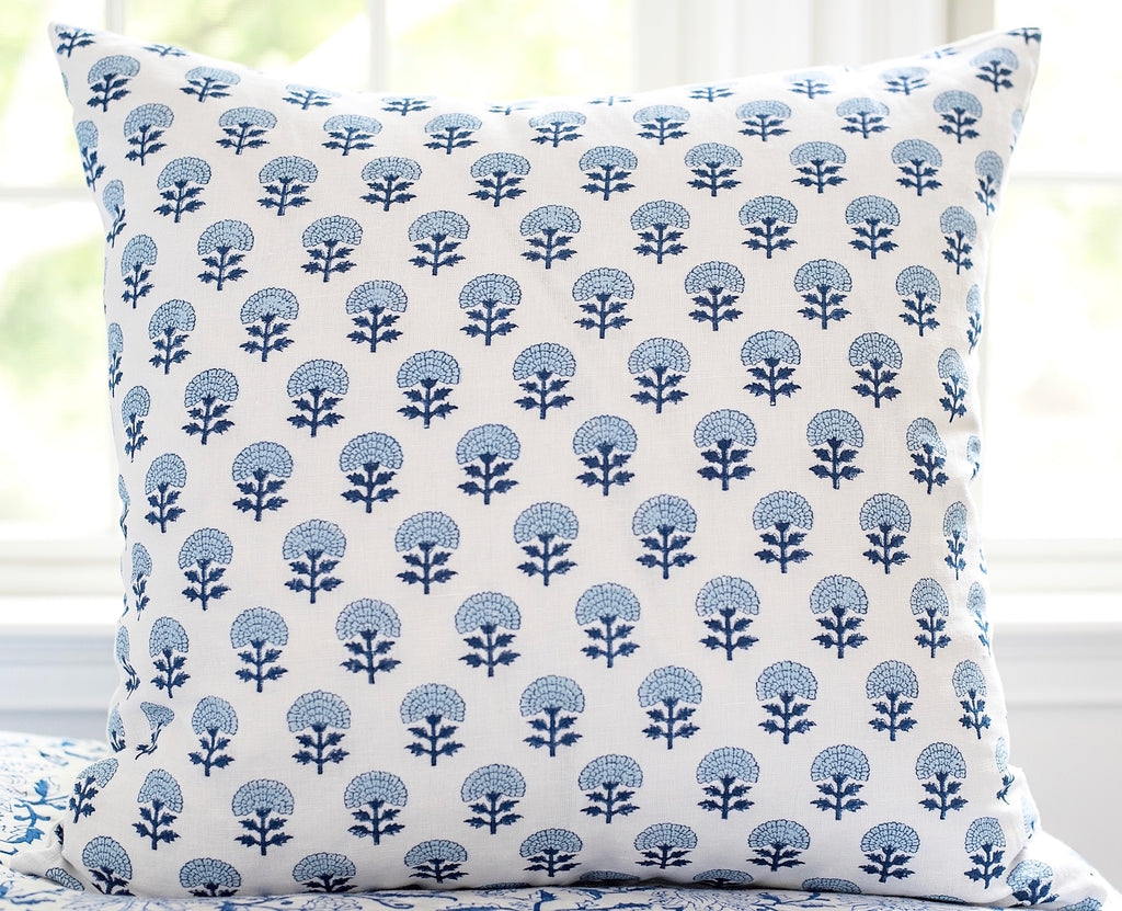 Neela Block Print Cushion