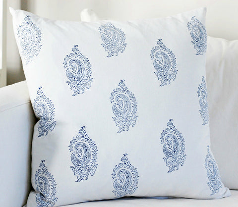 Rani Block Print Cushion