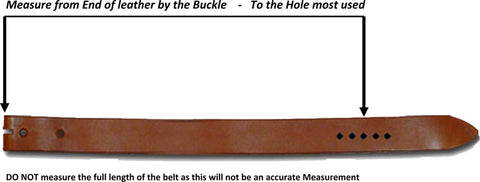 Measure a belt