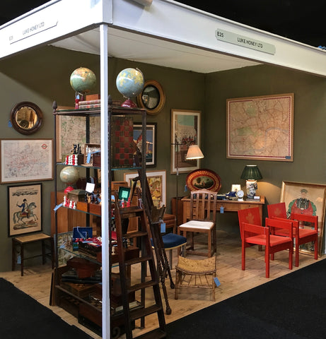 d2df505751b20d Day one of the Decorative Antiques & Textile Fair, Battersea Park, Spring,  2018. The Fair runs until Sunday, April 22nd. Please get in touch if you  want a ...