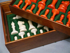 Staunton Ivory Chess Set, circa 1930
