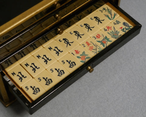 Stylish American Mah Jong Set, circa 1920