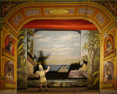 'Robinson Crusoe' Toy Theatre, circa 1890