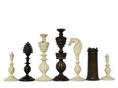 Antique Anglo-Indian Chess Set, circa 1830