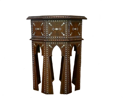 anglo indian hoshiarpur side table
