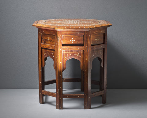 An Anglo-Indian Octagonal Table, circa 1890
