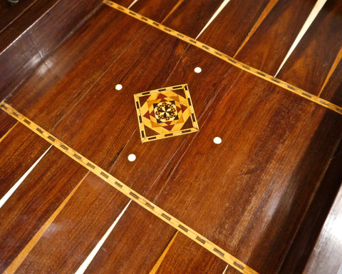 Anglo-Indian Backgammon Board, 19th century