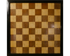 Antique English Chess Board, circa 1870