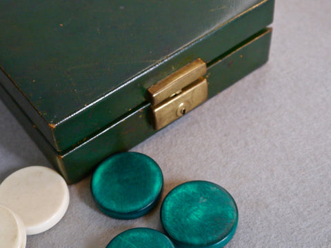 Asprey Backgammon Counters, circa 1930