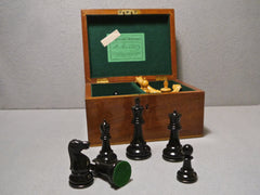 Second World War Jaques Staunton Chess Set