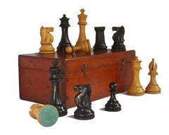 Staunton Chess Set in the B.C.C. Manner