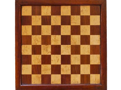 Rare British Chess Company Board, 1891-1908