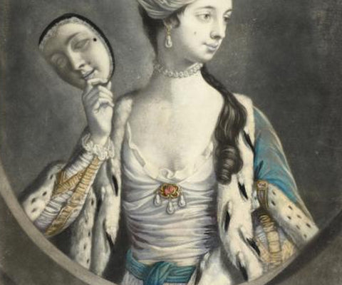 The Beauty Unmasked, Carrington Bowles, 1770