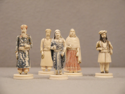 Berhempore 'Toy' Figures, circa 1850