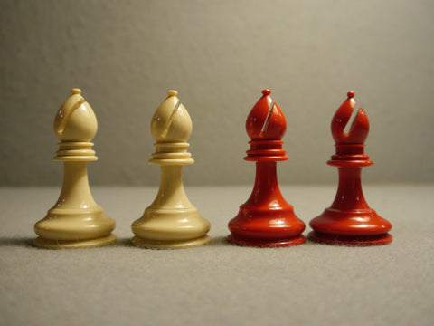 Rare British Chess Co. Ivorine Set, circa 1895