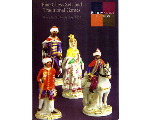Bloomsbury Auctions Chess Catalogue, 2005