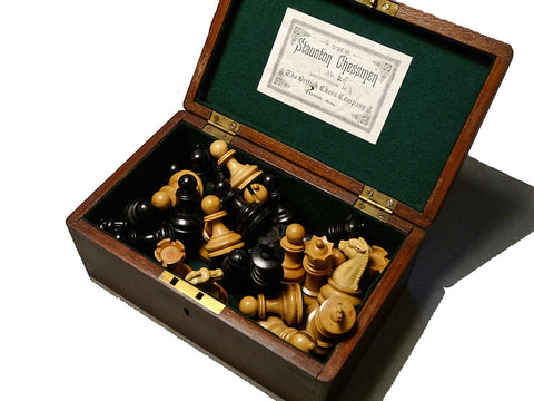 British Chess Company Staunton Set, No. 4S