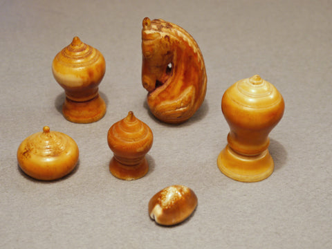Cambodian Chess Set, 17th/18th century
