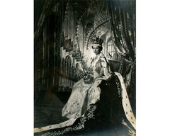 Cecil Beaton Signed Coronation Photograph