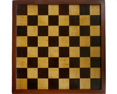 Antique English Chess Board, circa 1890