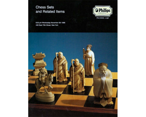 Phillips New York, Rare Chess Catalogue, 1996