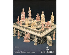 Christie's Chess Auction Catalogue, 1994