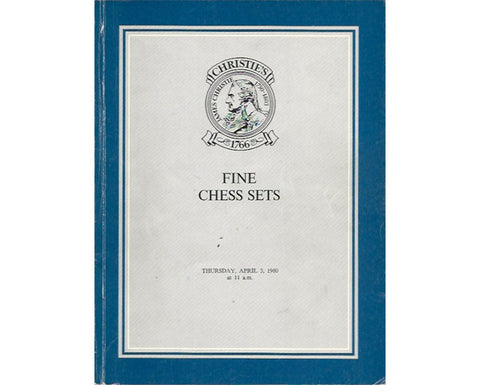 Christie's Fine Chess Sets Catalogue, 1980