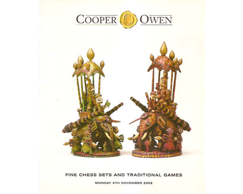 Cooper Owen Chess Catalogue, 2002