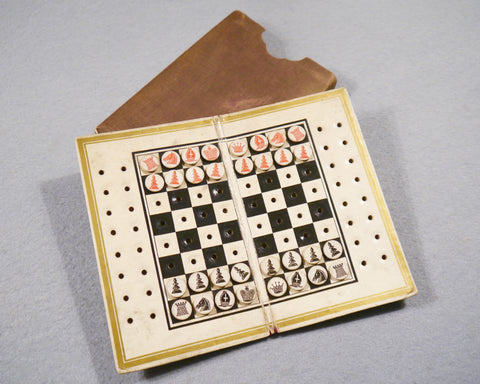 De La Rue Pocket Chess Board, 1846