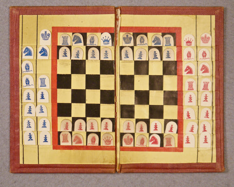Dr Roget's Economic Chess-Board, 1847-50