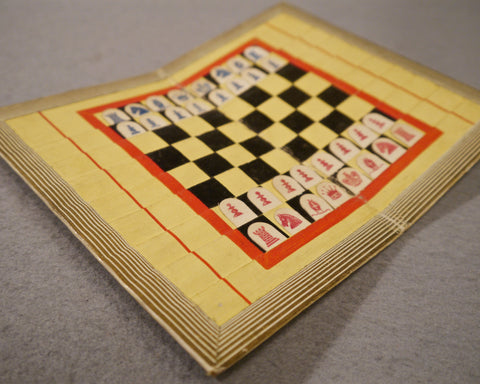 Economic Chess Board, First Edition, 1845