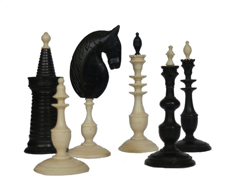 Danish Antique Chess Set