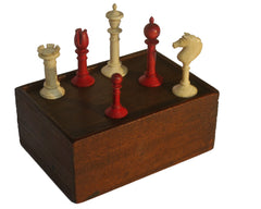 Edinburgh Upright Chess Set, circa 1870