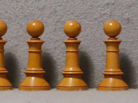 Fine Edinburgh Upright Chess Set, circa 1870