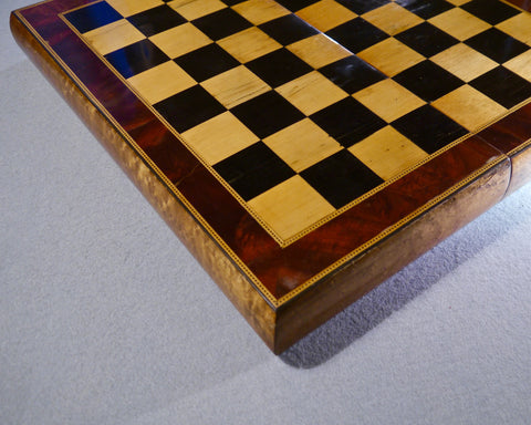 Edwardian Burrwood Chess Board