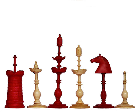 antique danish selenus chess set
