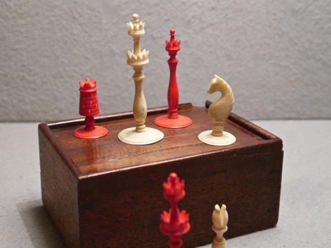 English Ivory Chess Set, circa 1790