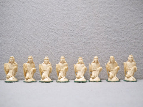 "Erbach ""Medieval"" Chess Set, circa 1925"