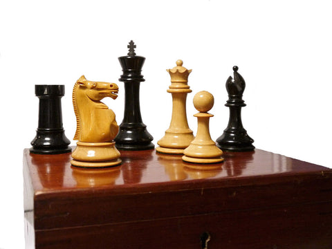 Fine Staunton Chess Set (in the Jaques Style)