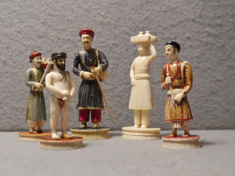 Five Indian 'Toy' Figures, Rajasthan, 19th century