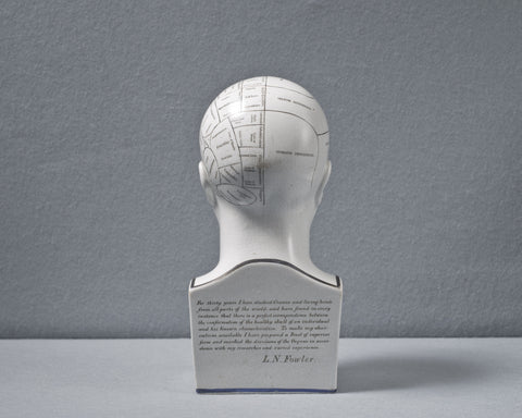 An Antique Phrenology Bust, circa 1855