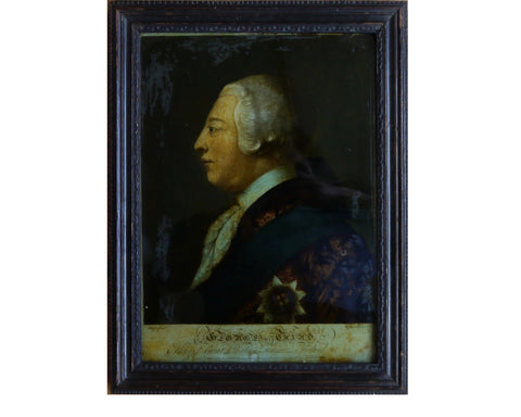 Royal Antique Print King George